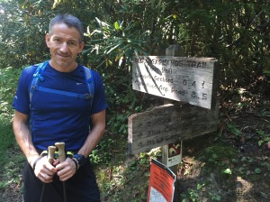 Brian at the Bull Head Trailhead