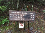 Gregory Ridge Trailhead
