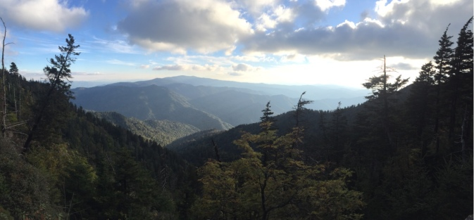 View From Alum Cave Trail