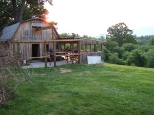 Holy Family Hiker Hostel in Pearisburg, Va.