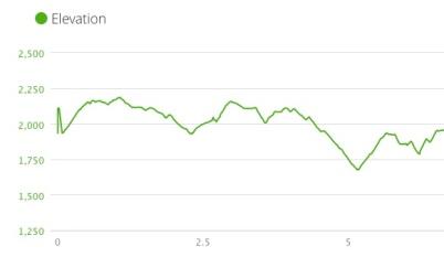 Ace Gap Elevation