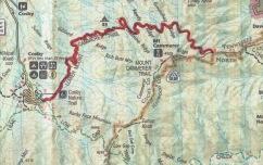 Lower Mount Cammerer Trail